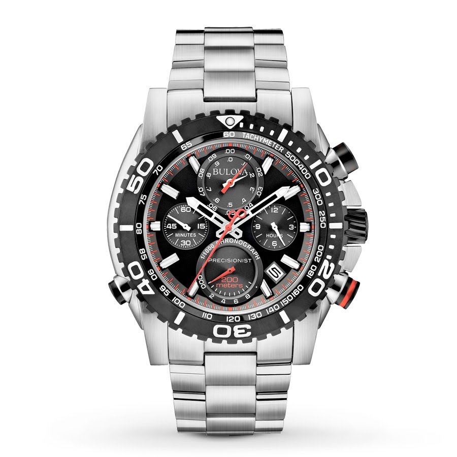 Bulova chronograph watch 98B212