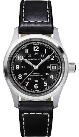 Hamilton Khaki Field Automatic Watch in black