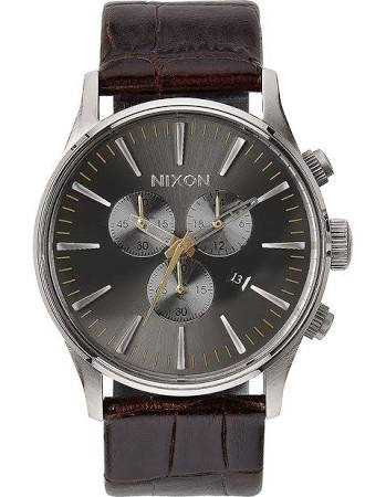 Nixon Sentry Leather Watch A405-1887