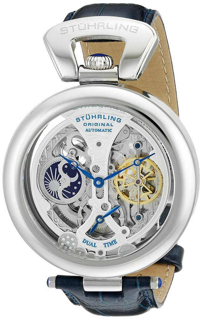 Stuhrling skeleton watch 127A.3315C2