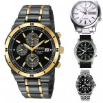 Top 5 Most Popular Best Selling Seiko Watches For Men.