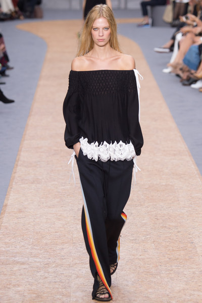 The Fashion Brand Chloe Spring 2016 Ready-to-Wear Runway Trend