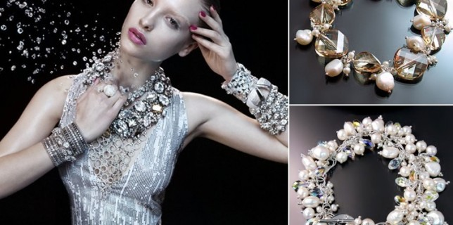 You deserve it: Sparkling Swarovski Bridal Jewelry