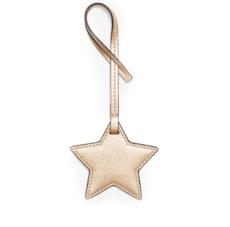 Metallic Leather Star Charm