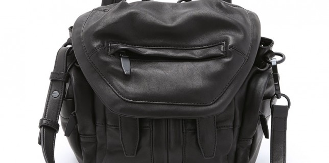 Alexander Wang Reissues Fashion And Classic Bags in All Black