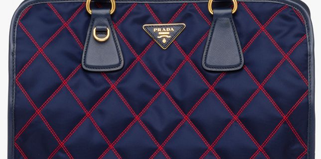 Classic And Chic Prada Quilt Bag