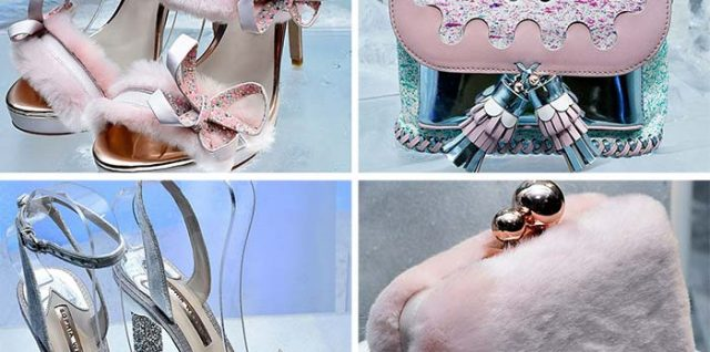 Sophia Webster Showcased Summer-Approved Shoes for Fall 2017