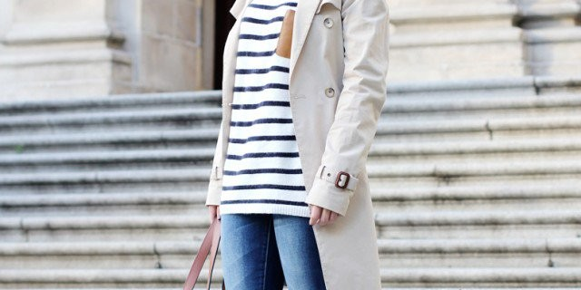 Super Chic Ways To Wear Rainy Boots With Sweaters, Dresses And Trench Coats